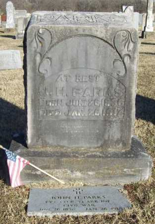 PARKS (VETERAN CSA), JOHN HAMILTON - Washington County, Arkansas | JOHN HAMILTON PARKS (VETERAN CSA) - Arkansas Gravestone Photos