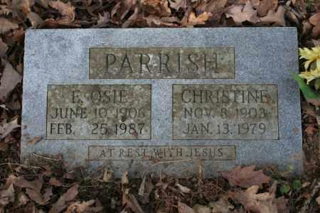 PARRISH, CHRISTINE - Washington County, Arkansas | CHRISTINE PARRISH - Arkansas Gravestone Photos
