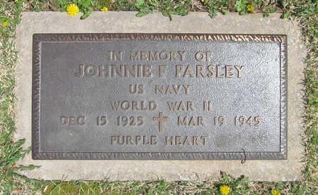 PARSLEY (VETERAN, KIA), JOHNNIE F - Washington County, Arkansas | JOHNNIE F PARSLEY (VETERAN, KIA) - Arkansas Gravestone Photos