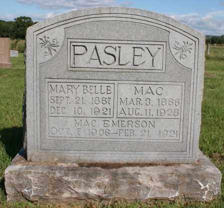 MCCORD PASLEY, MARY BELLE - Washington County, Arkansas | MARY BELLE MCCORD PASLEY - Arkansas Gravestone Photos