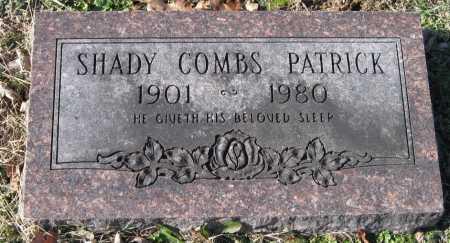 PATRICK, SHADY COMBS - Washington County, Arkansas | SHADY COMBS PATRICK - Arkansas Gravestone Photos