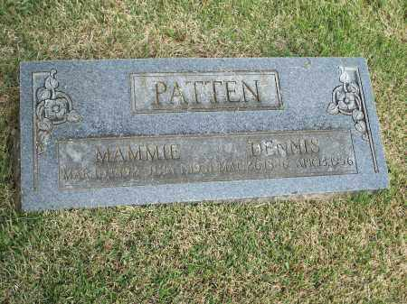 PATTEN, MAMMIE - Washington County, Arkansas | MAMMIE PATTEN - Arkansas Gravestone Photos