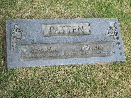 PATTEN, DENNIS - Washington County, Arkansas | DENNIS PATTEN - Arkansas Gravestone Photos