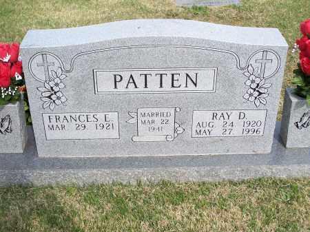 PATTEN, RAY D. - Washington County, Arkansas   RAY D. PATTEN - Arkansas Gravestone Photos