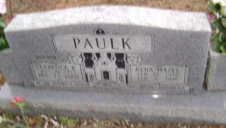PAULK, CLARENCE B. - Washington County, Arkansas | CLARENCE B. PAULK - Arkansas Gravestone Photos