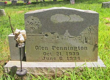 PENNINGTON, OLEN RAY - Washington County, Arkansas | OLEN RAY PENNINGTON - Arkansas Gravestone Photos