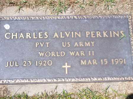 PERKINS (VETERAN WWII), CHARLES ALVIN - Washington County, Arkansas   CHARLES ALVIN PERKINS (VETERAN WWII) - Arkansas Gravestone Photos