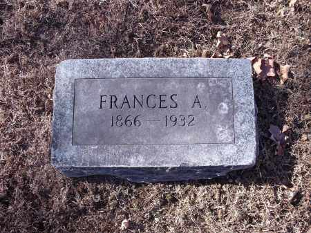 PETTIGREW, FRANCES A. - Washington County, Arkansas | FRANCES A. PETTIGREW - Arkansas Gravestone Photos