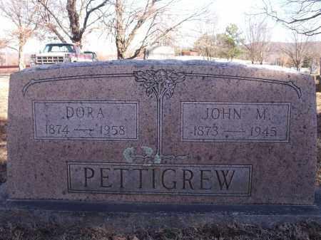 PETTIGREW, DORA - Washington County, Arkansas | DORA PETTIGREW - Arkansas Gravestone Photos