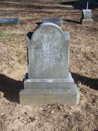 PETTIGREW, SULTANNA - Washington County, Arkansas | SULTANNA PETTIGREW - Arkansas Gravestone Photos