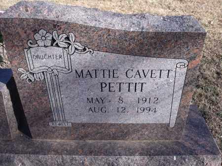 PETTIT, MATTIE - Washington County, Arkansas | MATTIE PETTIT - Arkansas Gravestone Photos