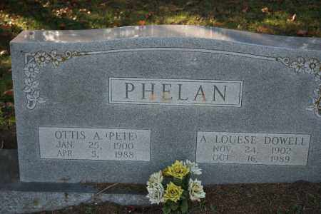 DOWELL PHELAN, A. LOUESE - Washington County, Arkansas | A. LOUESE DOWELL PHELAN - Arkansas Gravestone Photos