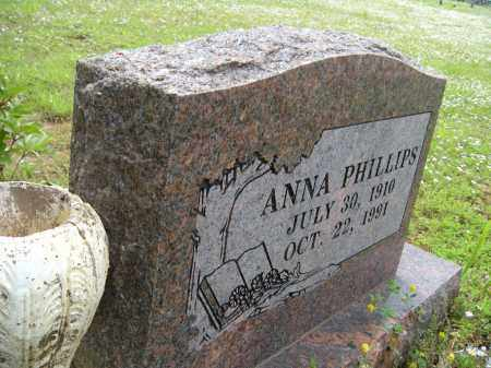 PHILLIPS, ANNA - Washington County, Arkansas | ANNA PHILLIPS - Arkansas Gravestone Photos