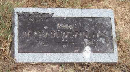 PHILLIPS, BETTY DEAN - Washington County, Arkansas   BETTY DEAN PHILLIPS - Arkansas Gravestone Photos