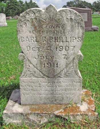 PHILLIPS, CARL G - Washington County, Arkansas | CARL G PHILLIPS - Arkansas Gravestone Photos