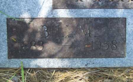 PHILLIPS, BILL M (CLOSEUP) - Washington County, Arkansas   BILL M (CLOSEUP) PHILLIPS - Arkansas Gravestone Photos