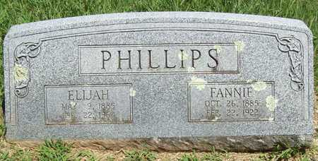 PHILLIPS, FANNIE - Washington County, Arkansas | FANNIE PHILLIPS - Arkansas Gravestone Photos