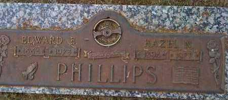 PHILLIPS, EDWARD E. - Washington County, Arkansas   EDWARD E. PHILLIPS - Arkansas Gravestone Photos