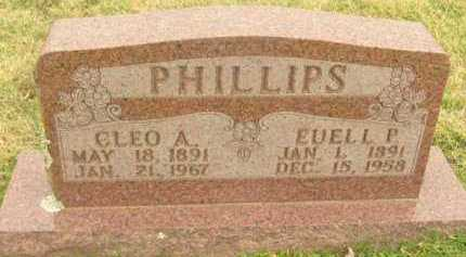 PHILLIPS, EUELL P - Washington County, Arkansas | EUELL P PHILLIPS - Arkansas Gravestone Photos