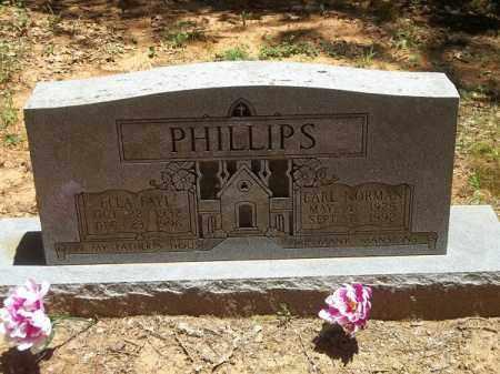 PHILLIPS, EARL NORMAN - Washington County, Arkansas | EARL NORMAN PHILLIPS - Arkansas Gravestone Photos