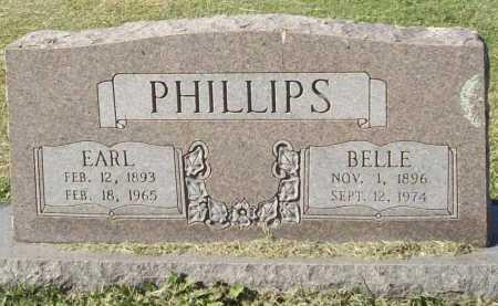 PHILLIPS, BELLE - Washington County, Arkansas | BELLE PHILLIPS - Arkansas Gravestone Photos