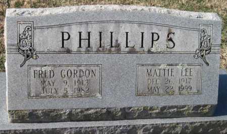 PHILLIPS, MATTIE LEE - Washington County, Arkansas | MATTIE LEE PHILLIPS - Arkansas Gravestone Photos