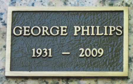 PHILLIPS, GEORGE - Washington County, Arkansas | GEORGE PHILLIPS - Arkansas Gravestone Photos