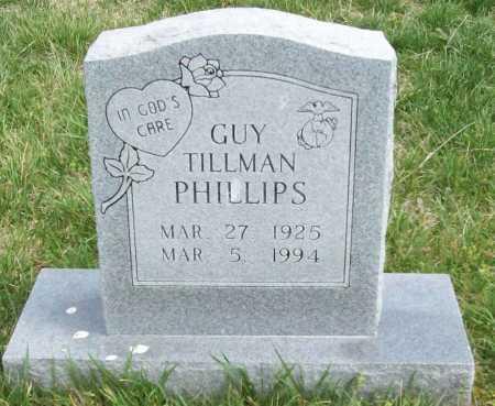 PHILLIPS, GUY TILLMAN - Washington County, Arkansas   GUY TILLMAN PHILLIPS - Arkansas Gravestone Photos