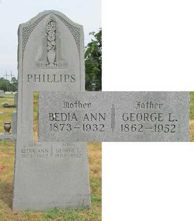 PHILLIPS, BEDIA ANN - Washington County, Arkansas | BEDIA ANN PHILLIPS - Arkansas Gravestone Photos
