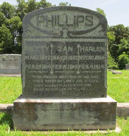 PHILLIPS, ZAN - Washington County, Arkansas | ZAN PHILLIPS - Arkansas Gravestone Photos