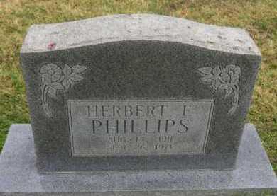 PHILLIPS, HERBERT F - Washington County, Arkansas | HERBERT F PHILLIPS - Arkansas Gravestone Photos