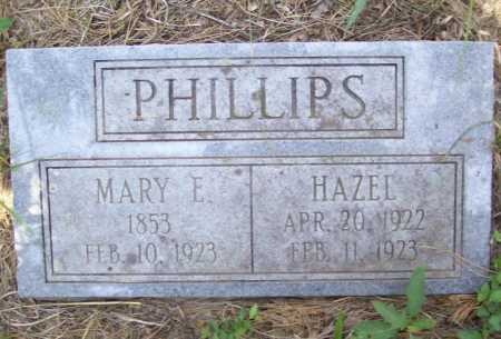 PHILLIPS, HAZEL - Washington County, Arkansas | HAZEL PHILLIPS - Arkansas Gravestone Photos