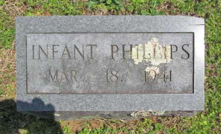 PHILLIPS, INFANT - Washington County, Arkansas | INFANT PHILLIPS - Arkansas Gravestone Photos
