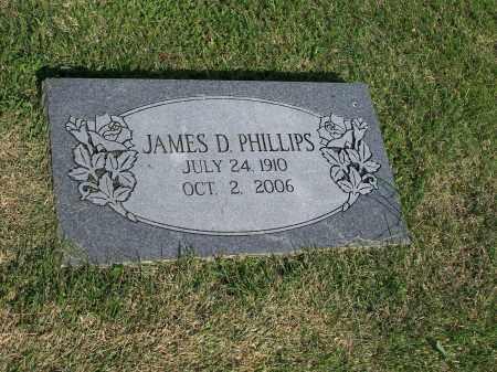 PHILLIPS, JAMES D. - Washington County, Arkansas | JAMES D. PHILLIPS - Arkansas Gravestone Photos