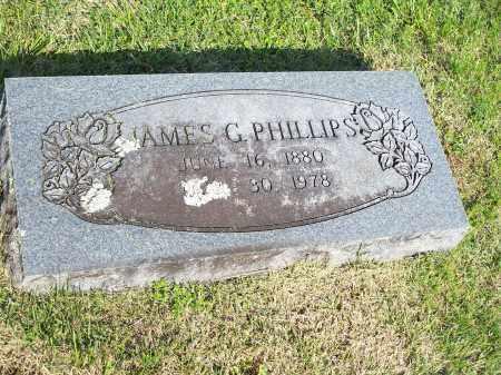 PHILLIPS, JAMES G. - Washington County, Arkansas   JAMES G. PHILLIPS - Arkansas Gravestone Photos