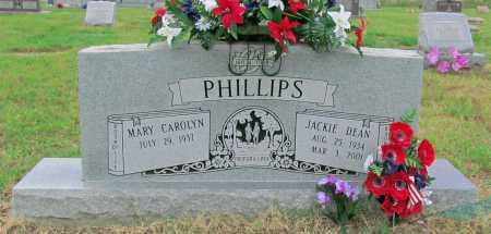 PHILLIPS, JACKIE DEAN - Washington County, Arkansas | JACKIE DEAN PHILLIPS - Arkansas Gravestone Photos