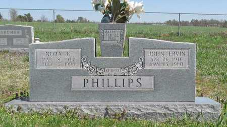 PHILLIPS, JOHN ERVIN - Washington County, Arkansas | JOHN ERVIN PHILLIPS - Arkansas Gravestone Photos