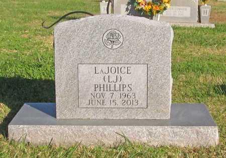 PHILLIPS, LAJOICE (LJ) - Washington County, Arkansas | LAJOICE (LJ) PHILLIPS - Arkansas Gravestone Photos