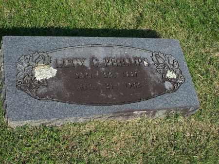 PHILLIPS, LUCY C. - Washington County, Arkansas | LUCY C. PHILLIPS - Arkansas Gravestone Photos
