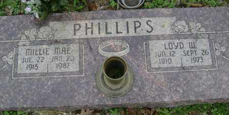 PHILLIPS, LOYD W. - Washington County, Arkansas | LOYD W. PHILLIPS - Arkansas Gravestone Photos