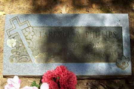 PHILLIPS, LARENCE B - Washington County, Arkansas | LARENCE B PHILLIPS - Arkansas Gravestone Photos