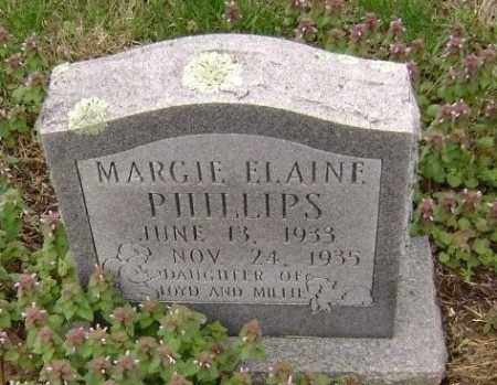 PHILLIPS, MARGIE ELAINE - Washington County, Arkansas | MARGIE ELAINE PHILLIPS - Arkansas Gravestone Photos