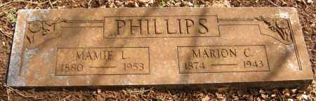 PHILLIPS, MARION C - Washington County, Arkansas | MARION C PHILLIPS - Arkansas Gravestone Photos