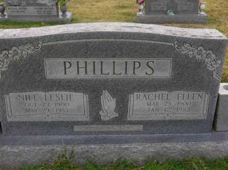 PHILLIPS, RACHEL ELLEN - Washington County, Arkansas | RACHEL ELLEN PHILLIPS - Arkansas Gravestone Photos