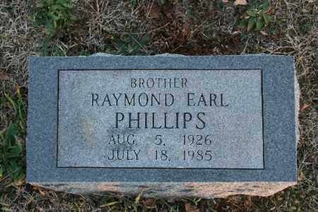 PHILLIPS, RAYMOND EARL - Washington County, Arkansas | RAYMOND EARL PHILLIPS - Arkansas Gravestone Photos