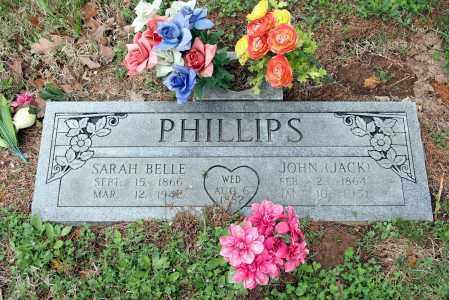 PHILLIPS, JOHN (JACK) - Washington County, Arkansas   JOHN (JACK) PHILLIPS - Arkansas Gravestone Photos
