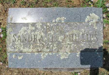 PHILLIPS, SANDRA LEE - Washington County, Arkansas | SANDRA LEE PHILLIPS - Arkansas Gravestone Photos