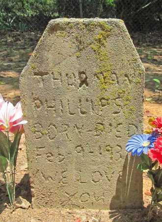 PHILLIPS, THURMAN - Washington County, Arkansas   THURMAN PHILLIPS - Arkansas Gravestone Photos