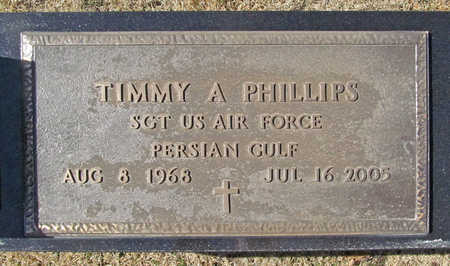 PHILLIPS (VETERAN PGW), TIMMY A - Washington County, Arkansas | TIMMY A PHILLIPS (VETERAN PGW) - Arkansas Gravestone Photos