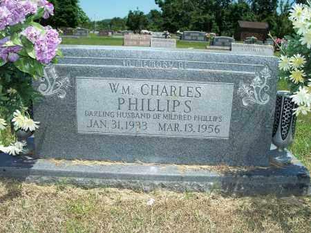 PHILLIPS, WILLIAM CHARLES - Washington County, Arkansas | WILLIAM CHARLES PHILLIPS - Arkansas Gravestone Photos